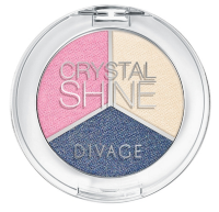 Тени для век Divage Crystal Shine Eye Shadow