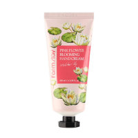 Крем для рук Farmstay Pink Flower Blooming Hand Cream Water Lily