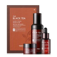 Набор для лица Tonymoly The Black Tea Moisture с черным чаем
