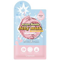 Маска-желе для лица Berrisom water Bomb Jelly mask WHITENING - ОСВЕТЛЯЮЩАЯ