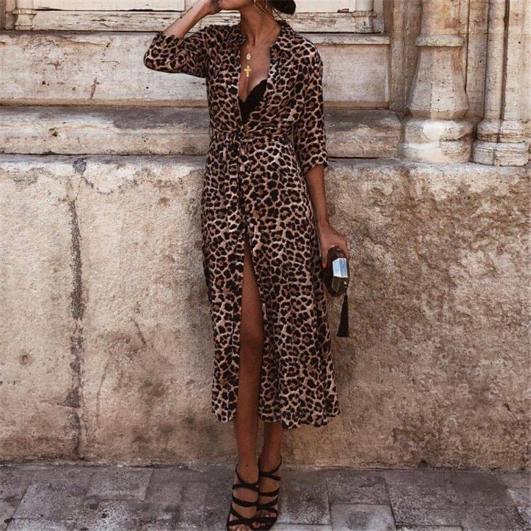 Платья В Леопардовом Стиле
