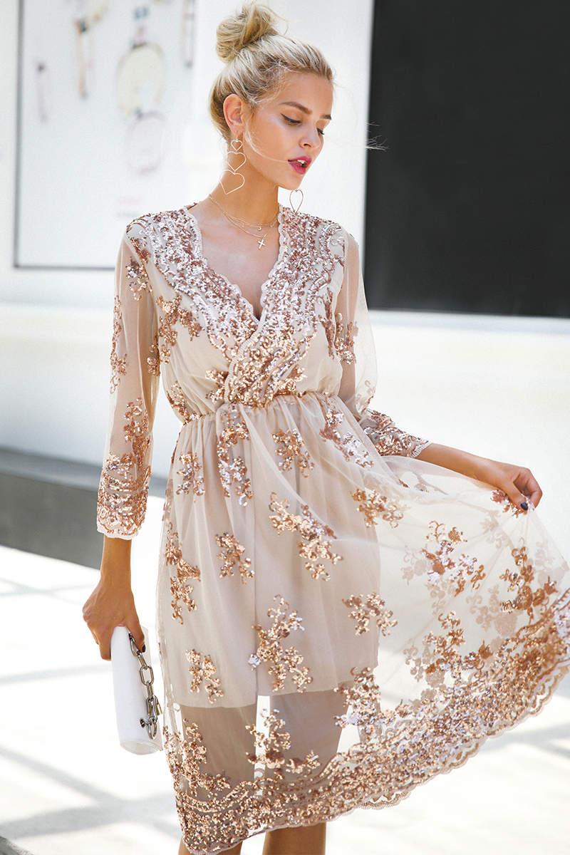 55df4914203 Купить Вечернее платье с пайетками