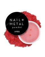 Nail Пудра для ногтей A'PIEU Nail Metal Powder (Red)