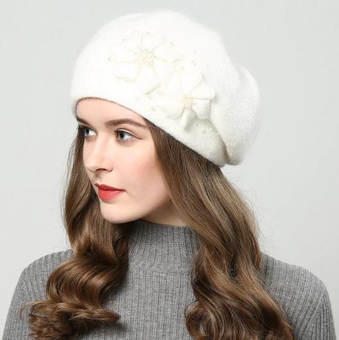 купить вязаная шапка Jiyouou в интернет магазине Womanlike